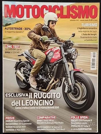 Motociclismo 9/2017 Harley Road King-Husqvarna 701