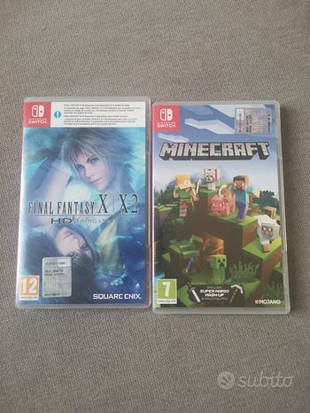 Giochi switch minecraft final fantasy