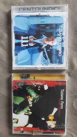 I primi 2 album di Tiziano Ferro