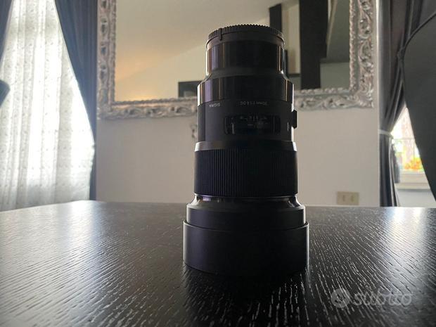 Obiettivo Sigma 50mm F1.4 DG HSM per Sony