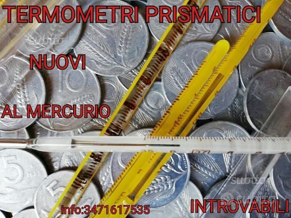 Termometri vintage NUOVI introvabil RILIEVIPRECISI