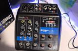 Consolle mixer audio professionale 4 canali usb