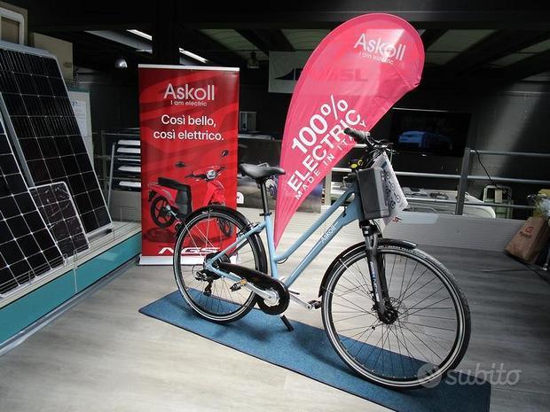 Bici elettrica Askoll eB4u con batteria removibile