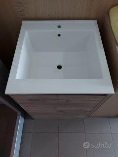 Mobile lavabo - pilozzo-lavatoio vasca in politek