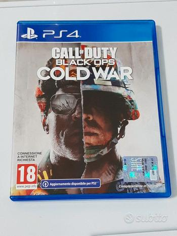 Call of duty cold war Ps4 PS5 SEMINUOVO