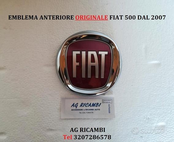 Stemma anteriore Originale Fiat 500 dal 2007