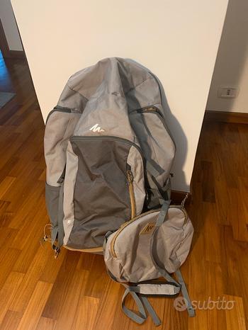 Coppia di borse zaino quechua Escape 70 litri