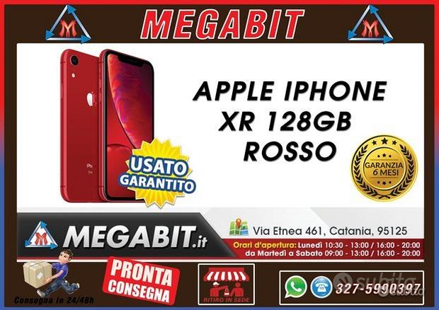 Iphone 128gb xr rosso