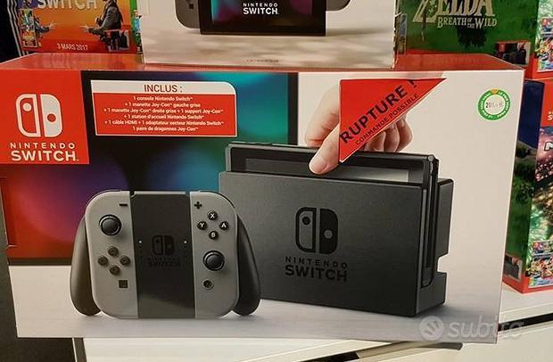 Nintendo switch speciale originale con due giochi