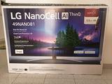 Smart TV LG NanoCell 49 pollici 4K (49NANO816NA)
