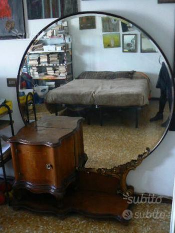 Specchiera camera letto specchio vintage anni 30
