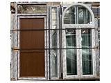 Infissi porta finestre in pvc e alluminio per casa