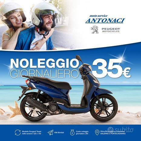 Peugeot Tweet 125 - 150 Noleggio giornaliero