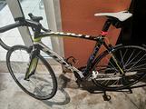 Bici corsa look full carbon 695 extra light