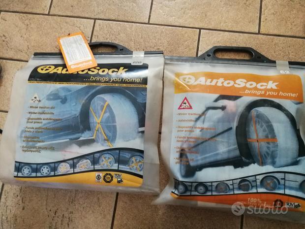 Calze da neve nuove autosock 62-600-645