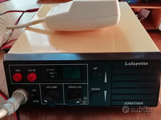 Radio ricetrasmittente VHF