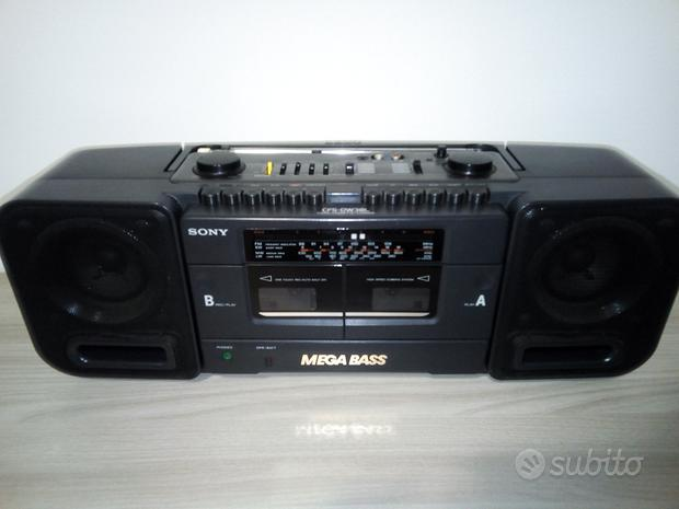 Stereo Sony hi-fi portatile Mega Bass funzionante