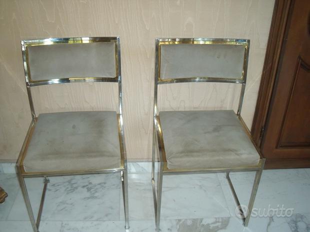 2 sedie anni '70 Romeo Rega