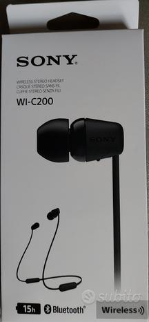 Cuffie Wireless Auricolari Neckband Sony,