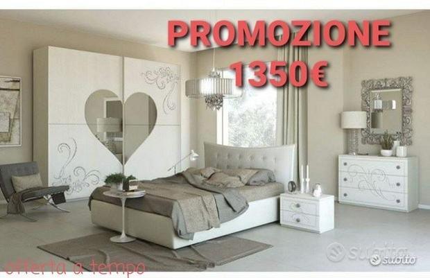 Camera da letto contemporanea love