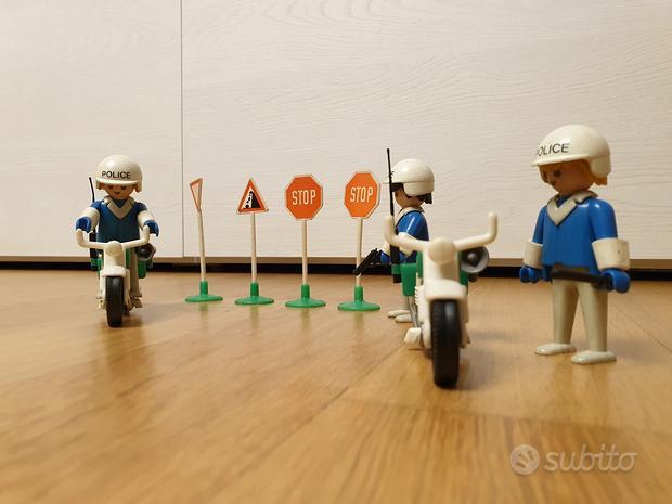 Playmobil vintage meta' anni 70 - polizia