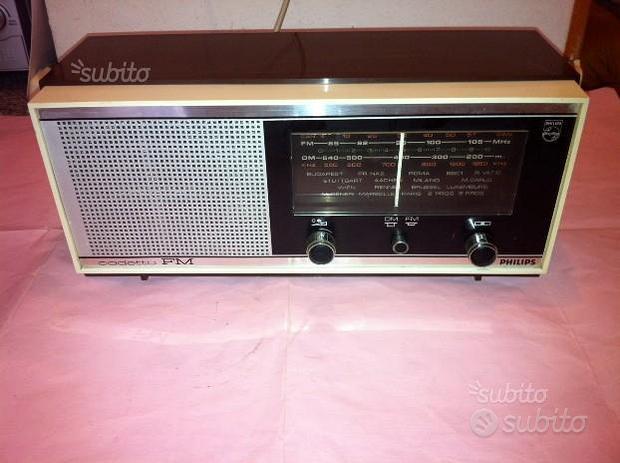 Radio Philips mod. CADETTO 19 RB 116- anni ' 60 -