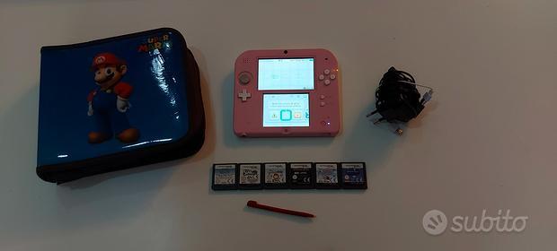 Nintendo 2Ds Perfetto- Pink & White + 6 Giochi