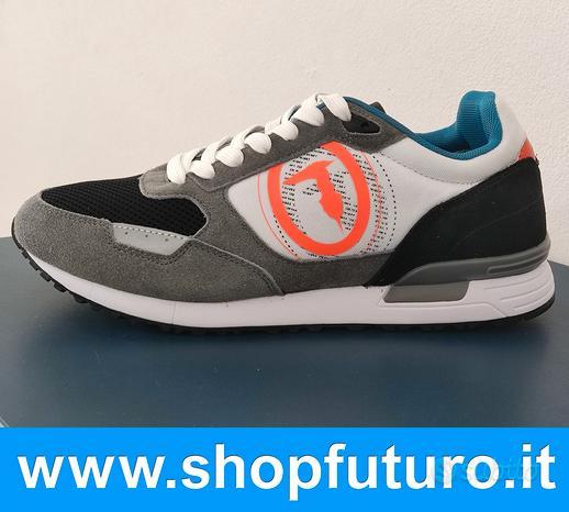 Scarpe Sneakers da Uomo Originali Trussardi Nuove