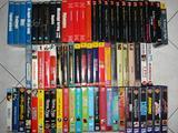 Film in VHS acquistati con giornali