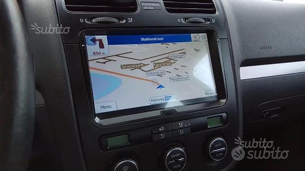 "Navigatore volkswagen android wifi 9"" golf touran"