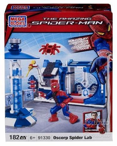 Mega bloks the amazing spider-man oscorp spider la