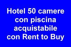 Hotel con piscina acquistabile con RENT-TO-BUY