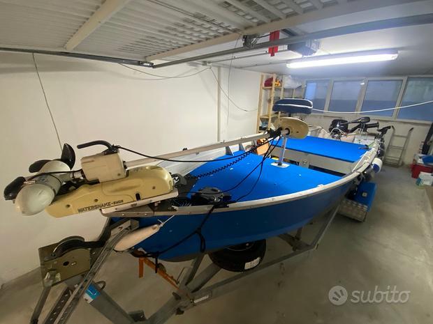 Barca a motore canadian alluminio starcraft