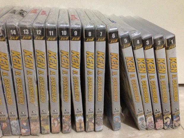 Ken il Guerriero serie DVD nuovi con cellophane