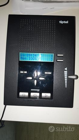 Segreteria telefonica professionale tiptel 309