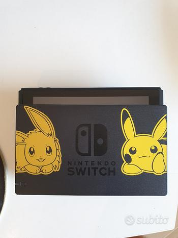 Nintendo switch limited edition pokemon let's go e