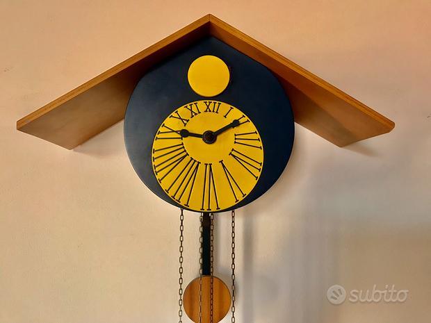 Orologio cucù design 1980-unico/ funzionante