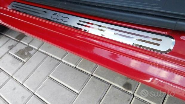 Coppia Battitacco in Alluminio Fiat 500