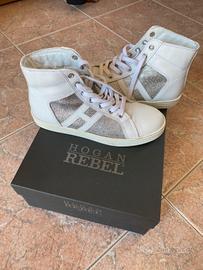 Scarpe Hogan Rebel bianche 35 bambina nuove - Abbigliamento e ...