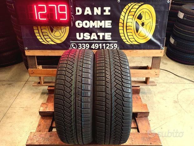 2 Gomme Usate 235 55 19 TERMICHE 70% CONTINENTAL
