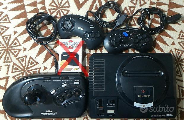 """Console """"SEGA Mega Drive Pal-G / 16 BIT"""""""