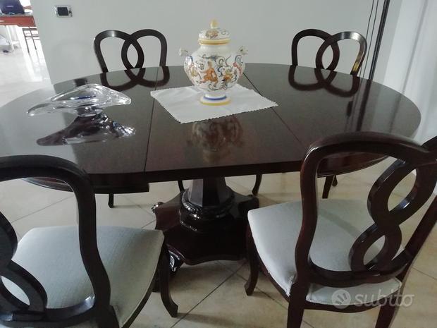 Tavolo in legno arigianato cantu