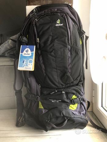 Zaino Trekking Deuter Traveller 80 10 NUOVO