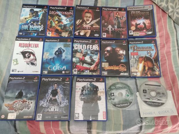 Videogiochi PS1, PS2, PS3 e altri