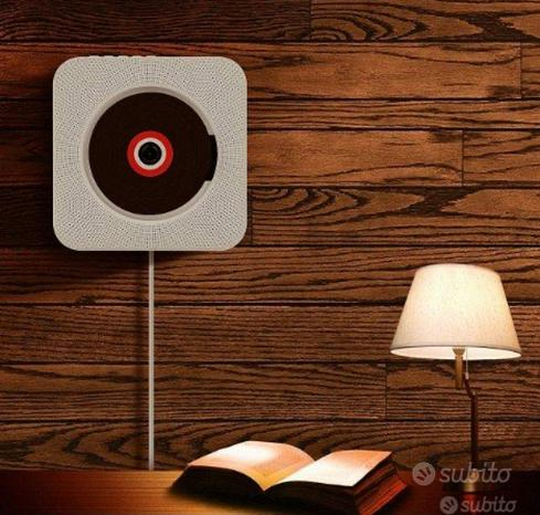 Lettore musicale cd montabile a parete o scrivania