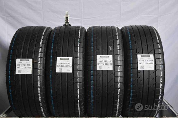 4 pneumatici gripmax 255/45 r20 105y tu003328