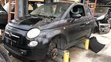 Fiat 500 nera