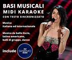 Basi Musicali Midi Karaoke con Sanremo 2021