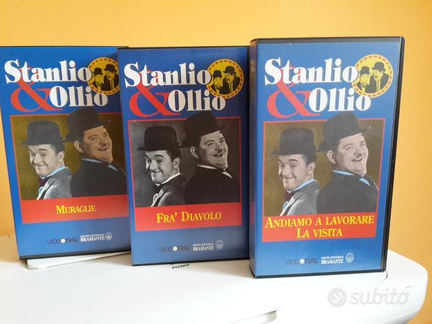 """Collana videocassette """"stanlio & ollio"""""""