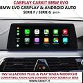 Carplay e android auto bmw evo dal 2017